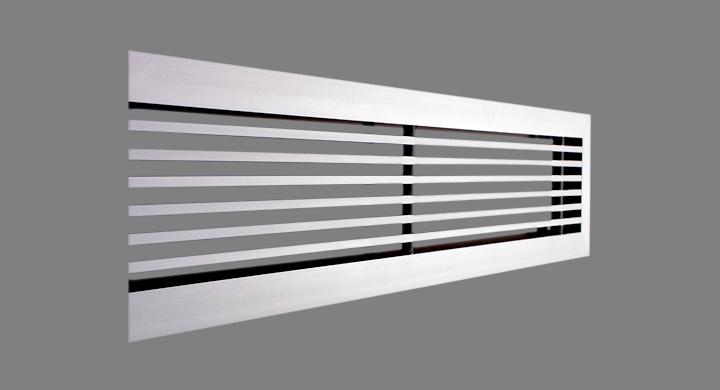 Rejillas lineales aire acond lmt for Rejillas aire acondicionado regulables